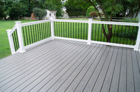 Composite deck in Cincinnati, OH