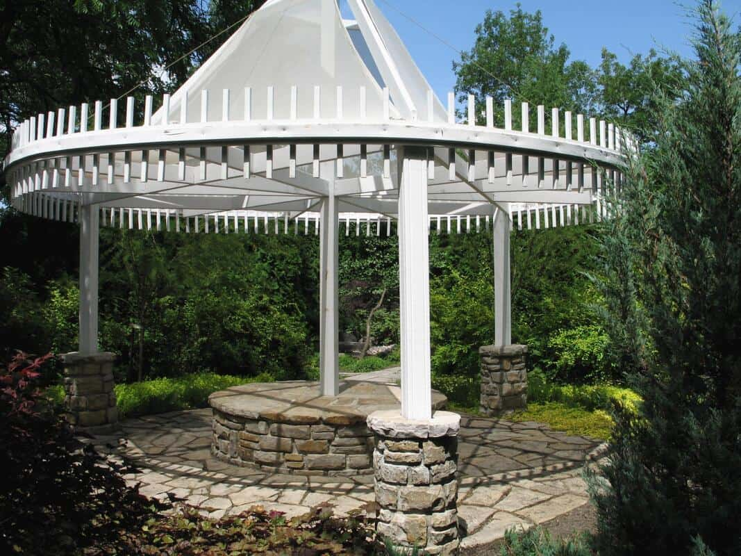 the example of pergola